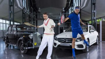 What cars like professional tennis players
