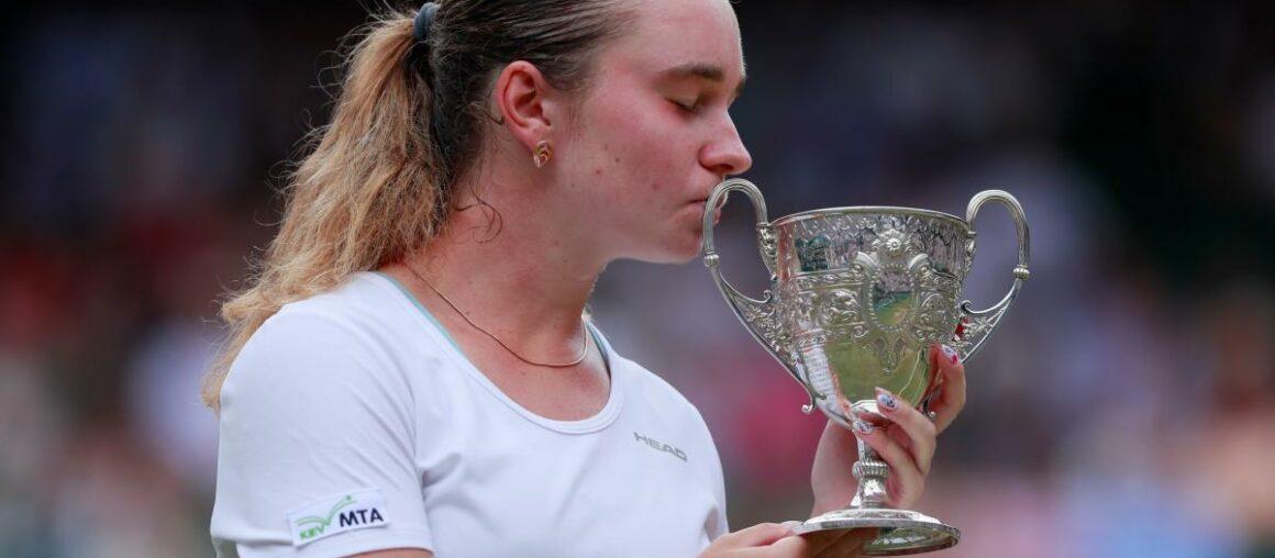 Snigur Wins Girls Singles Junior Wimbledon Tournament!